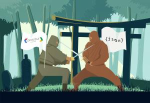json vs protobuf performance comparison